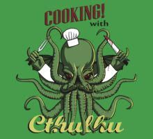 Cooking with Cthulhu by GrizzlyGaz