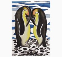 I CHOOSE YOU - PENGUIN LOVE by Lisa Frances Judd~QuirkyHappyArt