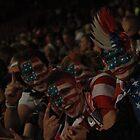 Team USA Fans Celebrate at Old Trafford by Matt Eagles
