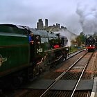 Passing at Corfe 3 by Mike Streeter