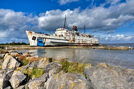 099 Duke Of Lancaster, North Wales by George Standen
