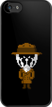 Rorschach Pixels by Ollie Chanter