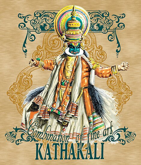 Kathakali Dance Form by ramanandr