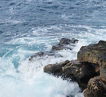 Hawaii Volcanoes National Park Waves by Loisb