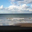 Mundesley Beach, Norfolk, England by Richard J. Bartlett