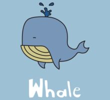 W is for Whale by gillianjaplit