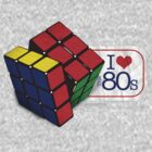 I love the 80's - Cube by soyelzappo