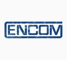 Vintage Encom - blue by colorhouse