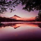 Mt. Hood from Lost Lake by mrmattb