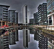 Clarence Dock Leeds HDR by Peter Buchan