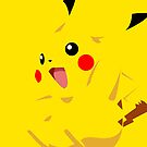 PlCACHU vector graphics version 2 by Aaron Pacey