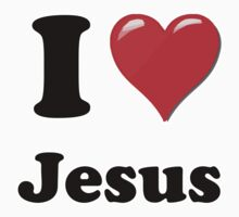 I Heart Jesus by HighDesign