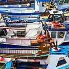 Newquay Fishing Fleet by John Dunbar