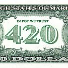 the 420 Dollar Bill by mouseman