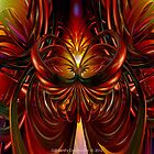 Abstract Fire Heart Fx  by AdamF-X29
