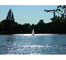 River boat Photographic Print