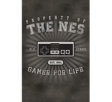 Property of NES (REMIX) Photographic Print