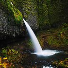 Upper Horsetail Falls  by mrmattb