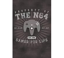 Property of N64 Photographic Print