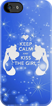 Keep Calm and Kiss The Girl by ArgentStylingz