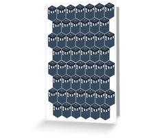 Timey-Wimey Tessellation Greeting Card