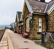 Ribblehead Railway Station by Trevor Kersley