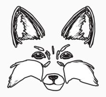 Large Fox - Animal Faces by The-Librarian