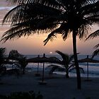 Gambia Sunset by Sue Robinson