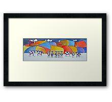 The Dairy Aisle Framed Print