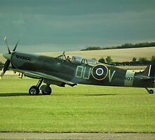 Spitfire ML407(The Grace Spitfire) by Andy Jordan