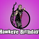 Clint Barton Birthday Card! by StevePaulMyers