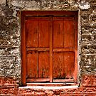 Orange Window by Ved Prakash Upadhyay