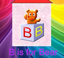 B is for Bear & Box  by Dennis Melling