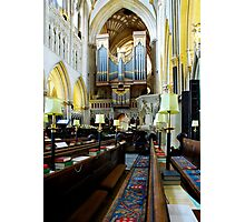 The Quire, Wells Cathedral Photographic Print