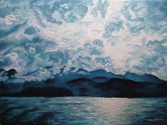 Variations_Blue Mountain No.1 by Morgan Ralston