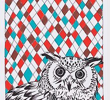 Geo Owl by Adam Regester