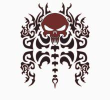 Tribal Skull  by VinnieIannone