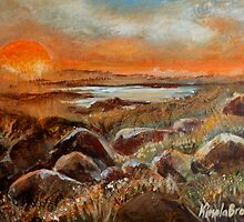 Sunrise Over Salt Marsh by Cal Kimola Brown