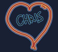 i love Chris heart  by tia knight