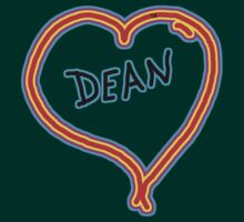 i love dean heart  by Tia Knight