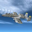 Fairchild Republic A-10 Thunderbolt II by Walter Colvin
