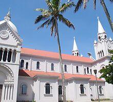 San Ramon Church -- San Ramon, Costa Rica by Joseph Carlson