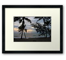 MCC Oak Beach Far North Queensland Framed Print