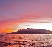 Maui Vacation - looking at Lanai by Benjamin Curtis