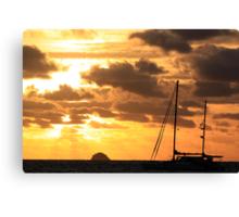 MCC Sunset Sailing Canvas Print