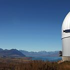 Mount John Observatory by Kyra  Webb