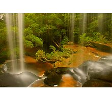Lower Somersby Falls .. a view sublime Photographic Print