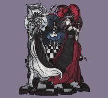 Alice and her Queens: The Checkered Board by Barbora  Urbankova
