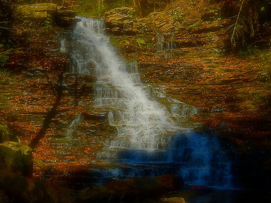The Waterfall by Mike Griffiths