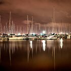 Yachts in reflection by James Collier